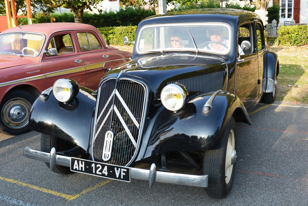 Citroen Traction 11B - 1953