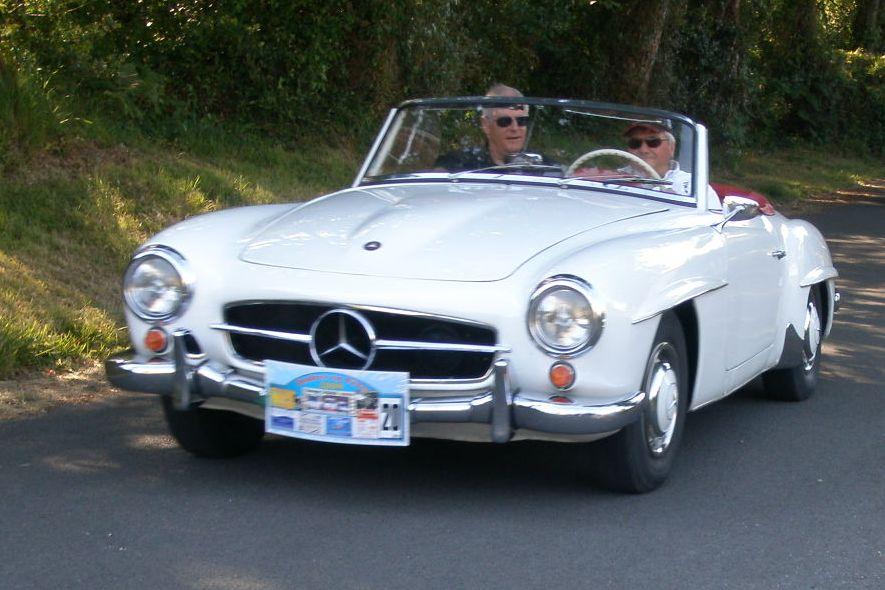 Mercedes 190SL - 1958