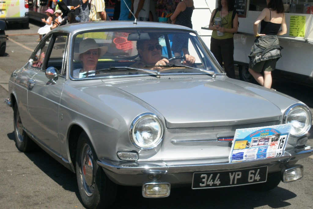 Simca 1000 coupé - 1965