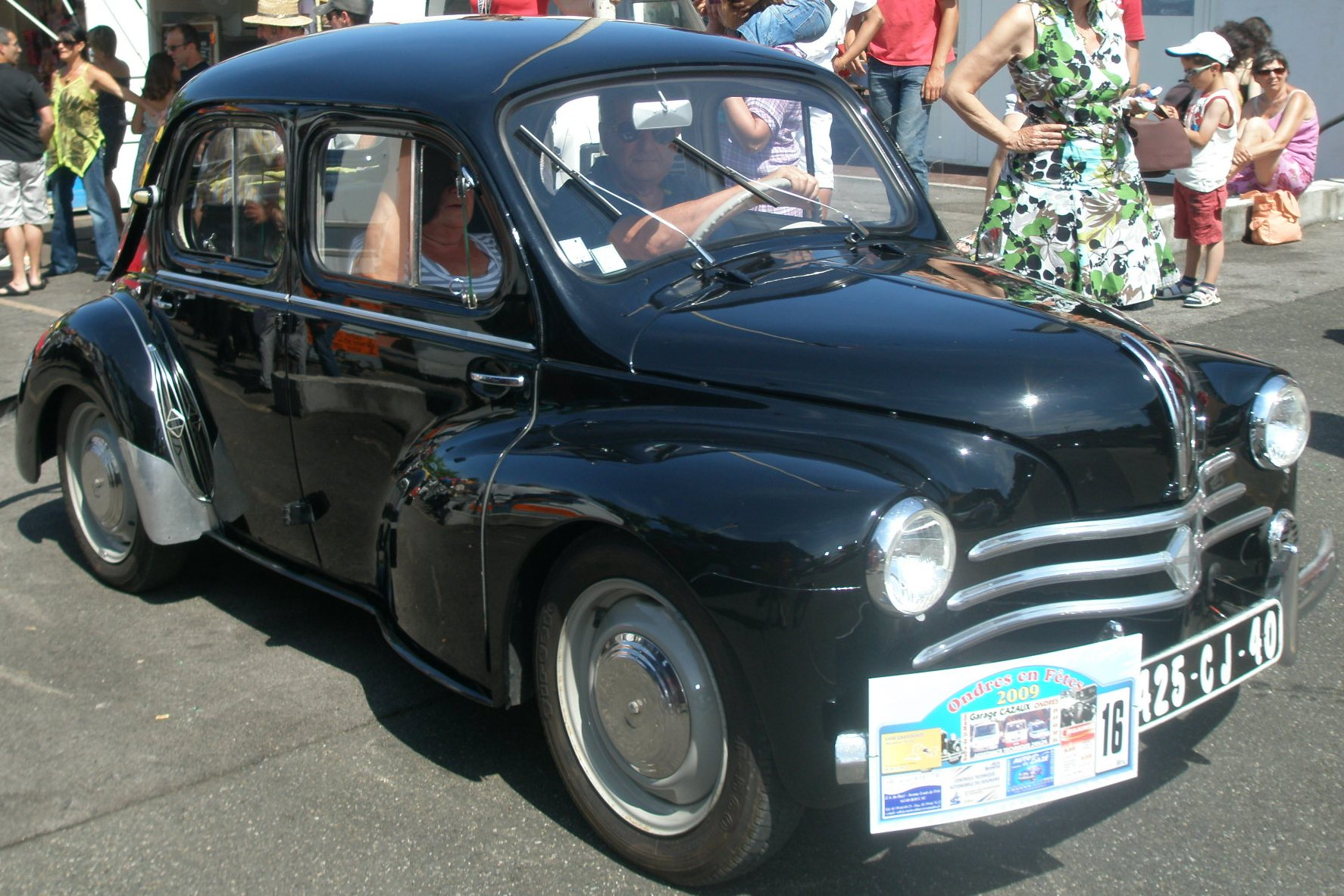 2eme prix. Renault 4CV 1960
