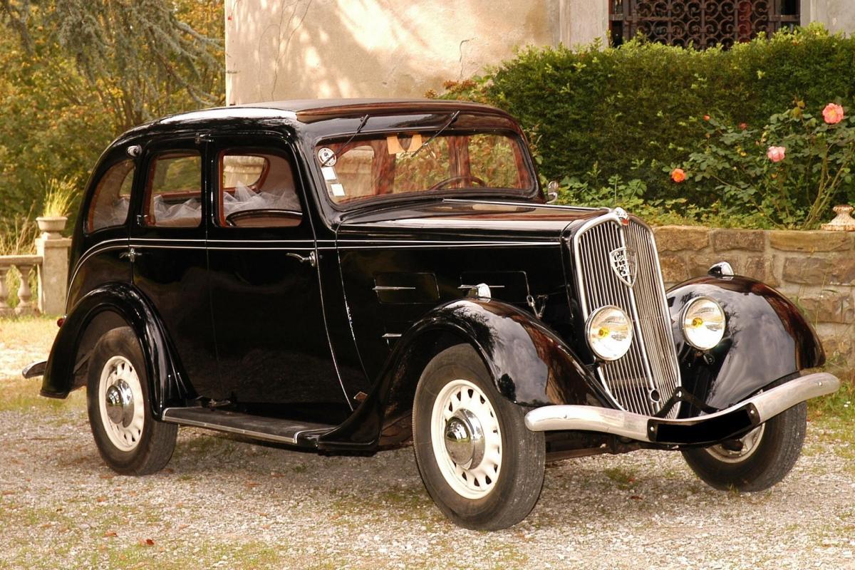 PEUGEOT 301D Limousine Grand Luxe - 1936