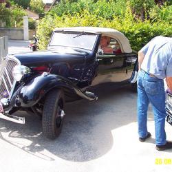 Citroen Traction Cabriolet