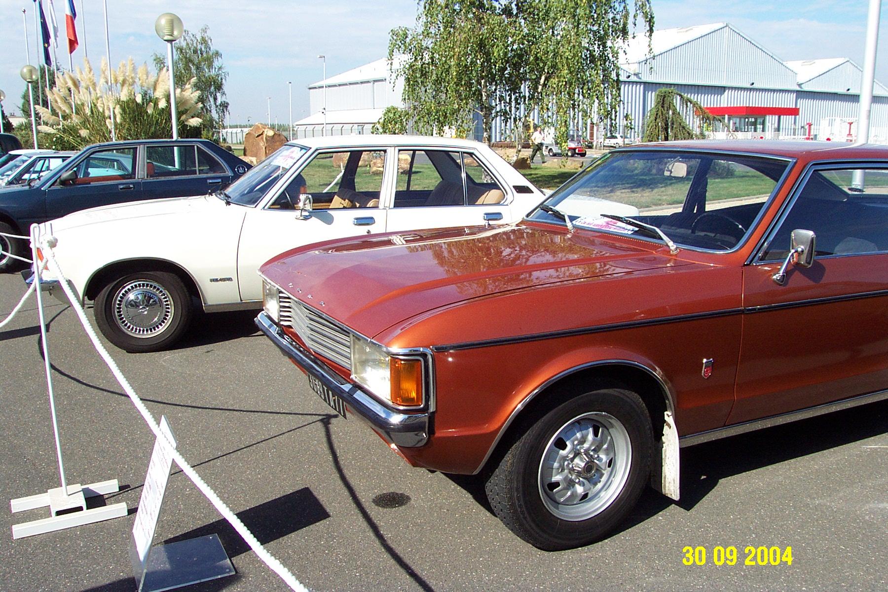 Ford Granada 2L3 coupé & Opel Rekord D 1972