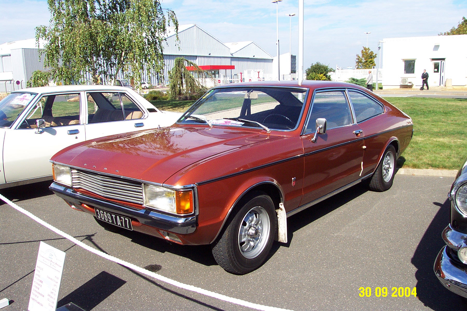 Ford Granada 2L3 coupé
