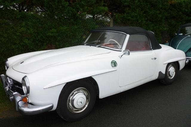 Mercedes 190sl 1958