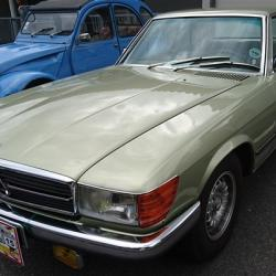 Mercedes 350SLC - 1973