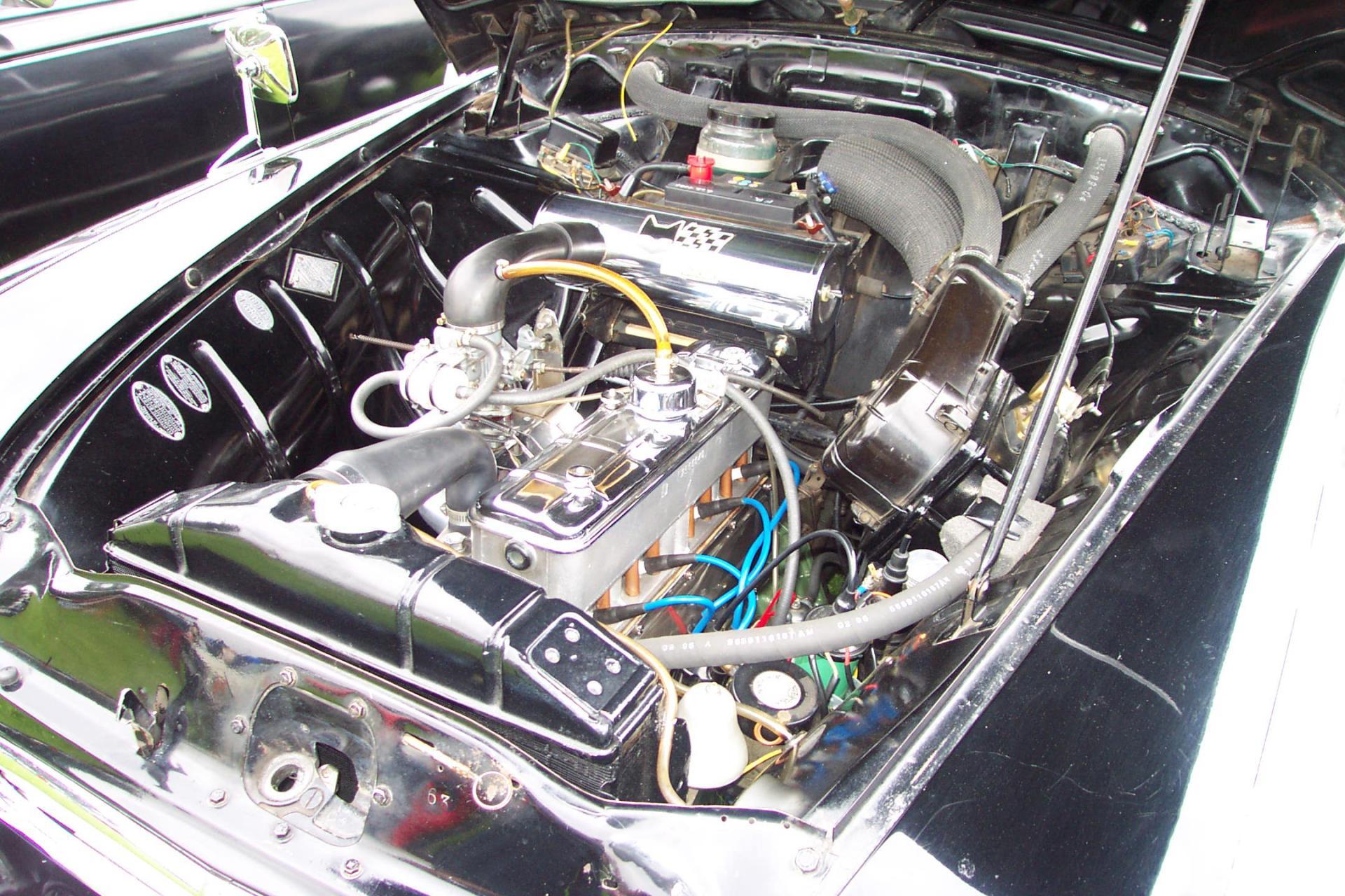 Mustang moteur