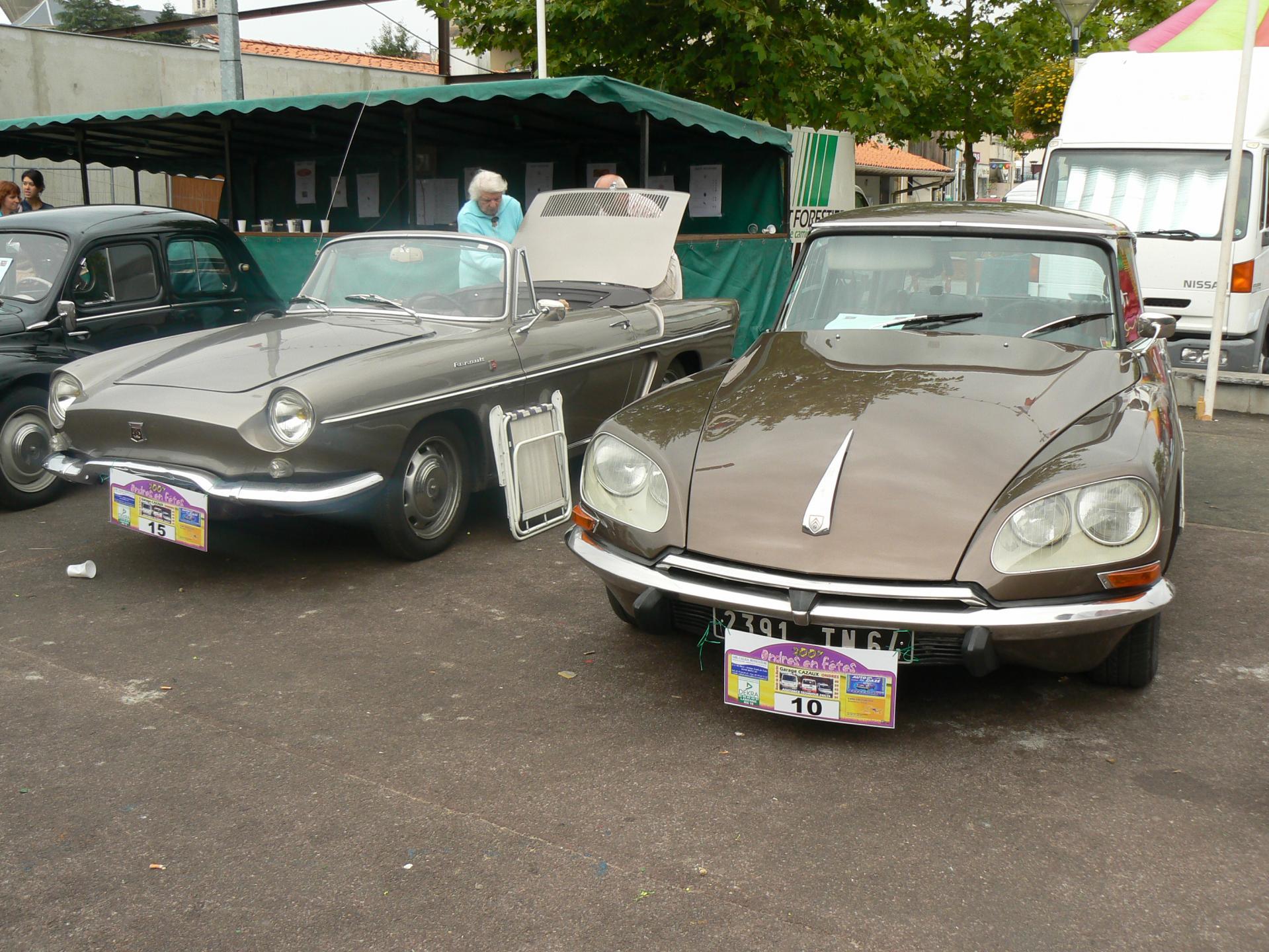 Citroen DS & Renault Floride
