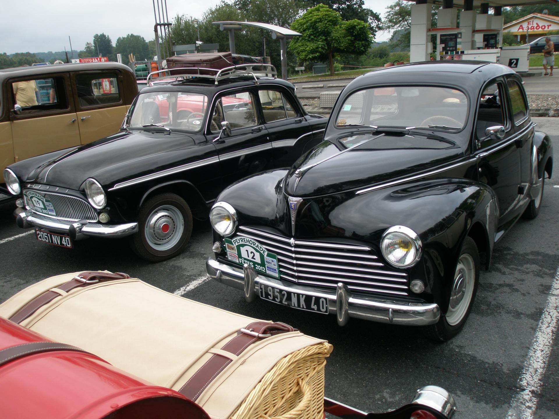 Peugeot 203 & Simca P60