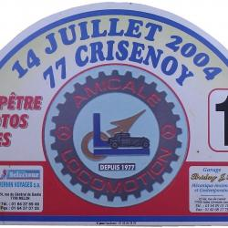Plaque crisenoy 2006