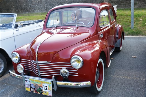 Renault 4cv decouvrable 1953