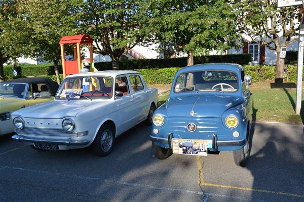 Simca 1000 & Fiat 600